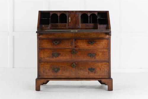 18th Century Queen Anne Walnut Bureau c.1710 (1 of 5)