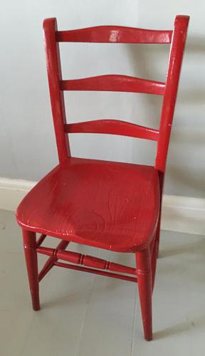 Painted Chair (1 of 3)
