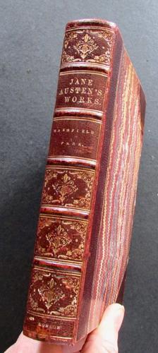 1877 Jane Austen  Mansfield Park   A Novel (1 of 4)
