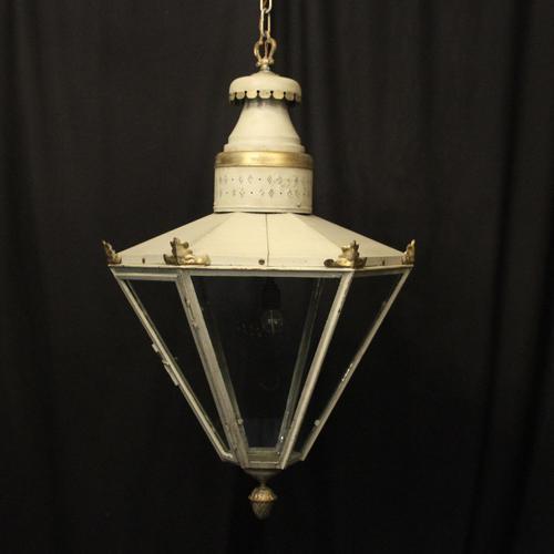 English Single Light Polychrome Lantern (1 of 10)