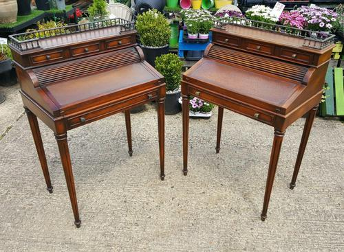 Matching Pair of Theodore Alexander Desks (1 of 10)