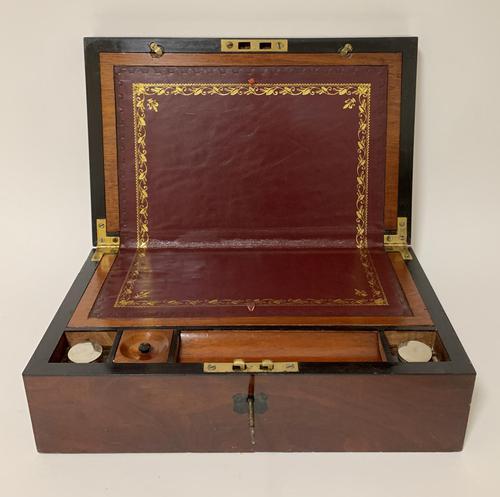 Antique Victorian Mahogany Writing Slope (1 of 12)