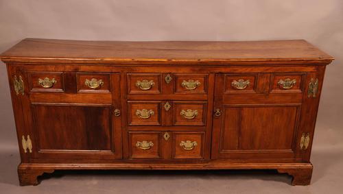Rare Georgian Fruitwood Serving Dresser (1 of 13)