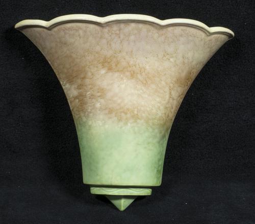 Sylvac Deco Style Wall Pocket / Vase (1 of 3)
