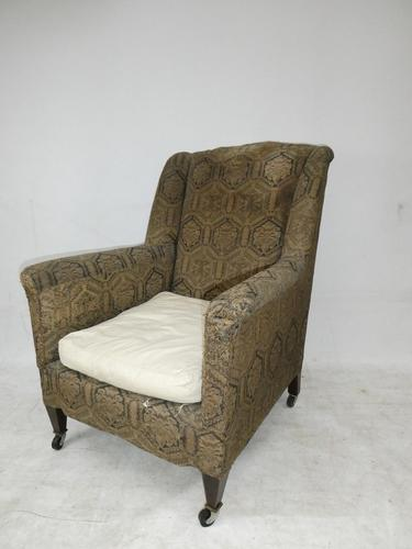 1900's Wing Armchair (1 of 8)
