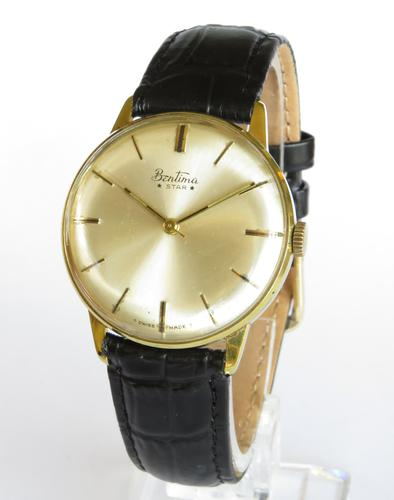 Gents 1960s Bentima Star Wrist Watch A594 (1 of 5)