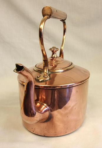 Antique Victorian Copper Kettle (1 of 6)
