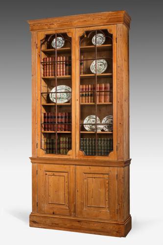 George III Period Pine Bookcase (1 of 6)