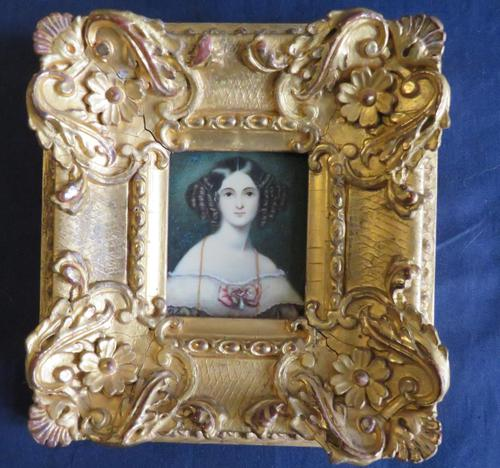 Miniature Portrait by Sir William Ross 1809-1859 (1 of 4)