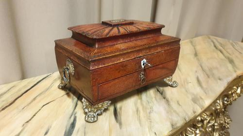 Regency Leather Sewing Box (1 of 13)
