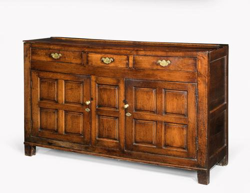 Late 18th Century Oak Dresser Base with Three Drawers to the Top (1 of 4)