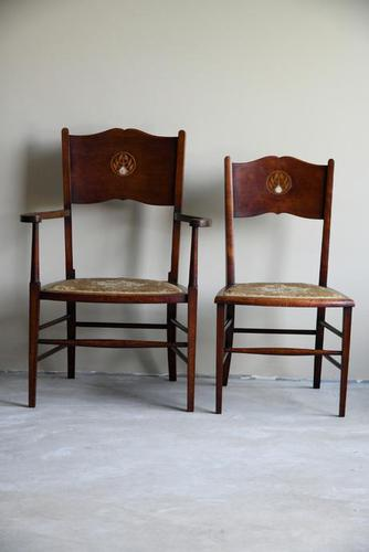 Pair of Art Nouveau Occasional Chairs (1 of 12)