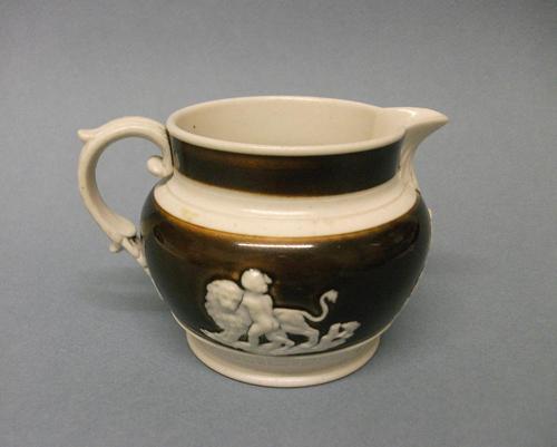 Small Chetham & Woolley Stoneware Jug, c.1800-1815 (1 of 5)