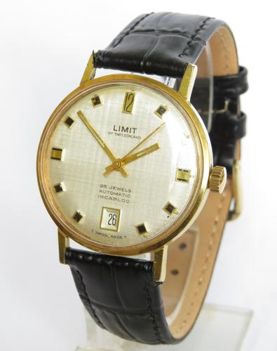 Gents 1970s Limit Automatic Wrist Watch (1 of 5)