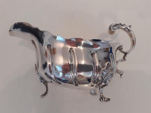 Silver Sauce Boat, Hallmarked 1897 (1 of 2)