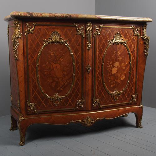 French Victorian Marble Top Commode by G. Durand (1 of 20)