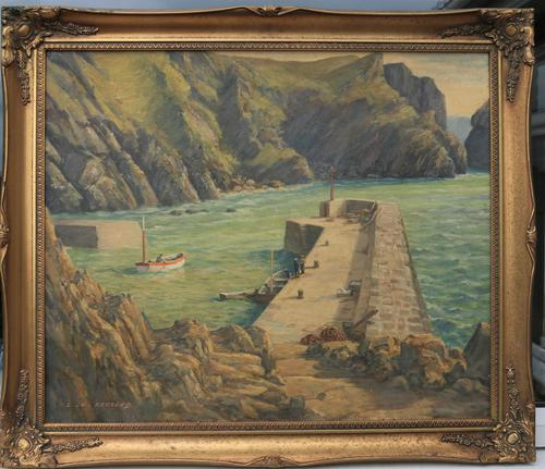 Mullion Cove-Cornwall by Leonard G Kersley (1 of 7)
