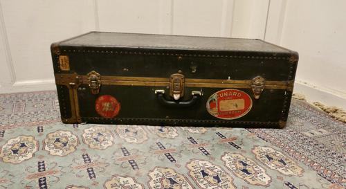 American Fitted Steamer Trunk or Cabin Wardrobe by Luxor (1 of 8)
