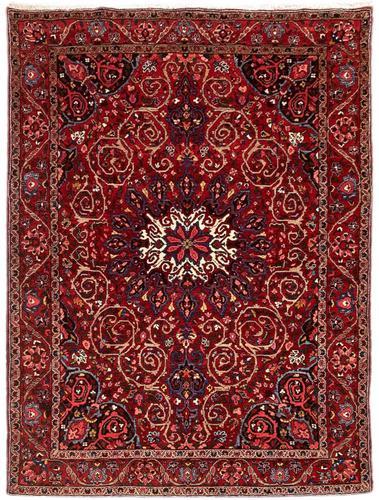 Antique Bakhtiar Rug (1 of 11)