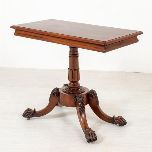 William IV Mahogany Side Table (1 of 6)
