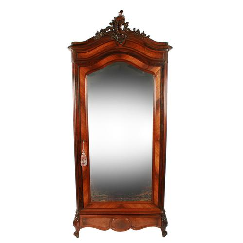 19th Century Rosewood Armoire (1 of 8)