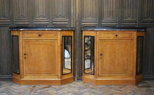 Pair of French Biedermeier Side Cabinets (1 of 7)