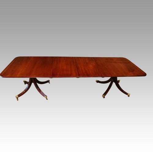 George V Mahogany  Dining Table (1 of 12)