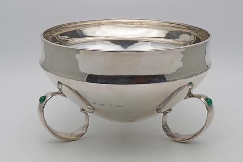 Rare large Liberty & Co Archibald Knox silver bowl (1 of 4)