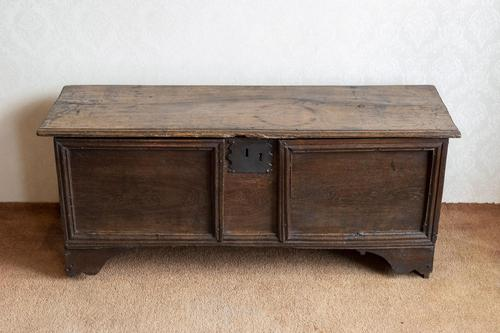 Unusual Oak Panelled Sword Chest (1 of 11)
