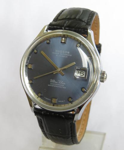Gents 1970s Hudson Ultra-Thin automatic watch (1 of 5)