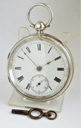 Antique silver Lancashire Watch Company Pocket Watch. (1 of 5)