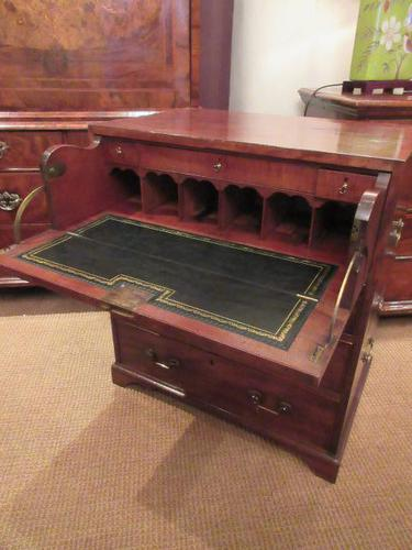 Small George III Period Military Secretaire Chest (1 of 9)