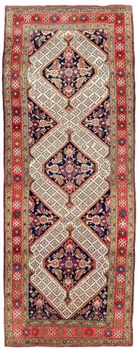 Antique Sarab Runner 3.18m x 1.10m (1 of 10)