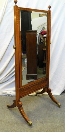 Antique Cheval Mirror (1 of 7)