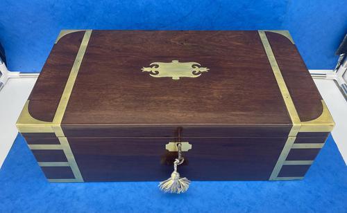 Georgian Solid Mahogany Box (1 of 11)