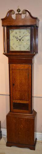 Hancock of Chard Longcase Clock (1 of 7)