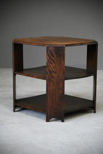 Early 20th Century Oak Coffee Table (1 of 8)