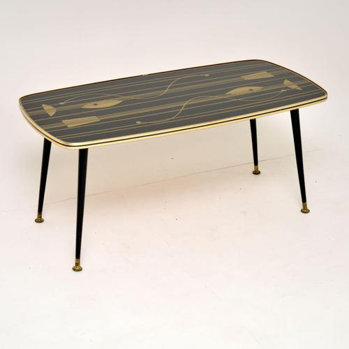 1950's Vintage Atomic Style Coffee  Table (1 of 5)