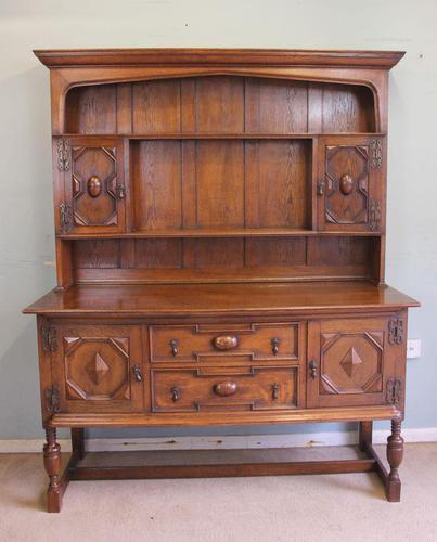 Antique Oak Dresser (1 of 12)
