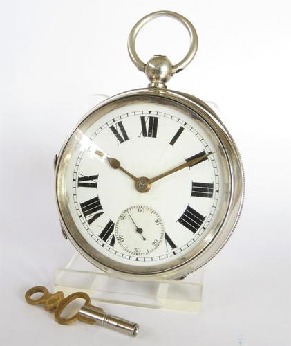 Antique Silver Ehrhardt Pocket Watch, 1919 (1 of 6)
