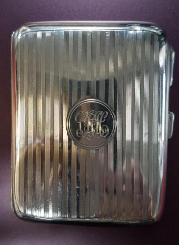 Sterling Silver Vesta Case - 1919 (1 of 4)