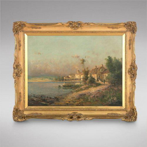 Pierre Jacques Pelletier - 19thc/Early 20thc French Oil on Canvas (1 of 3)