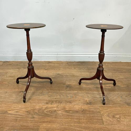 Matched Pair of Georgian Lamp Tables (1 of 3)