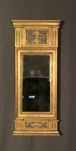 Swedish Gustavian Giltwood Pier Mirror (1 of 7)