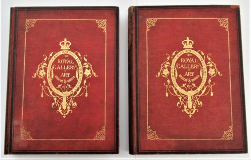 The Royal Gallery of Art, 1862, 144 fine Victorian engravings, first edition (1 of 9)