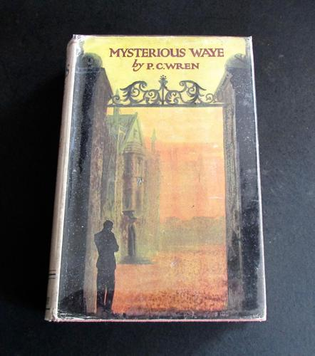1930 Mysterious Wave, Story of the Unsetting Sun.  1st UK Edition by P C Wren (1 of 5)