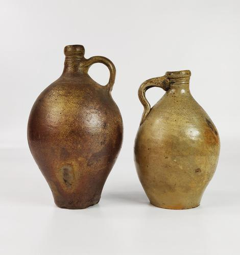 Two Late 17th - Early 18th Century Bellarmines. (1 of 9)