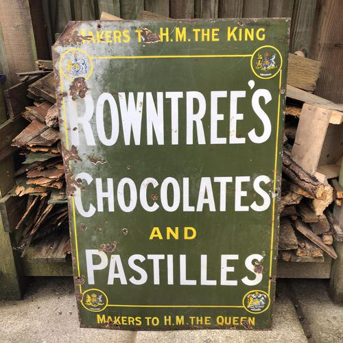Rowntree's Advertising Sign c.1910 (1 of 7)