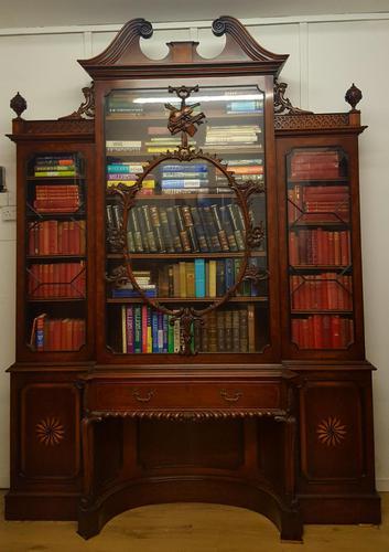 Thomas Chippendale Violin Bookcase (1 of 10)