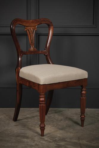 William IV Rosewood Kidney Back Chair (1 of 9)